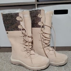 UGG Waterproof Vibram Artic Grip Fur Winter Boots